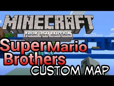 Minecraft (Xbox 360)  : Super Mario Brother Custom Map