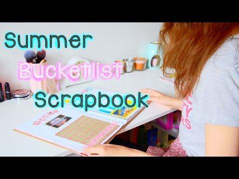 Summer Bucketlist Scrapbook || Imogen-Jane