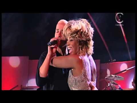 Eros Ramazzotti & Tina Turner - Cose Della Vita ( Live ) (видео)