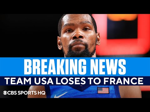 Team USA Men's Basketball Suffers Stunning Loss to France in the Olympics   CBS Sports HQ