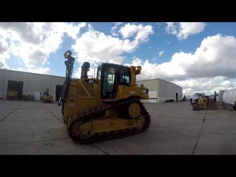 CATERPILLAR CIĄGNIKI GĄSIENICOWE D6TXL equipment video 5_i2WT1RDsU