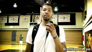 DraftExpress - Marcus & Markieff Morris - Scouting Each Other