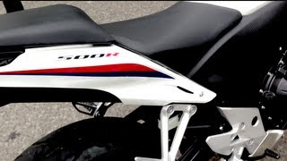8. HONDA CBR500R ABS 2013 0-60mph speed test