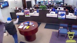 Video Guard Beats Bank Robber to the Shot   Active Self Protection MP3, 3GP, MP4, WEBM, AVI, FLV Januari 2019
