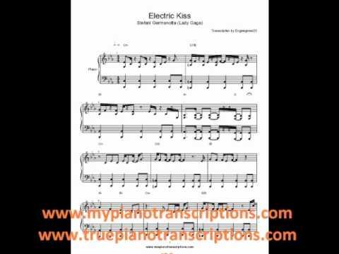 Electric Kiss Lady Gaga Sheet Music