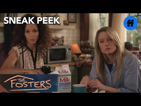 The Fosters 3.16 (Clip 'Callie & AJ Dating')