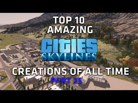 Top 10 AMAZING Cities Skylines Cities - Epic Interchanges - Part 25