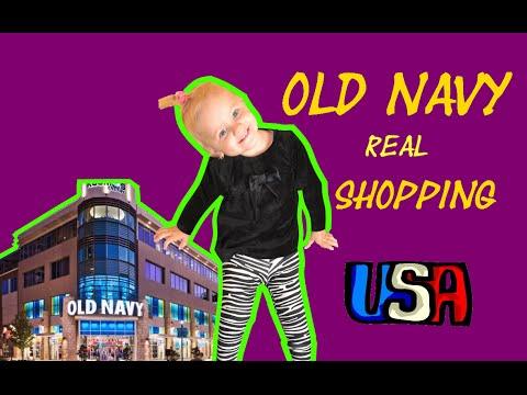 Old Navy real shopping Совместные покупки США обзор магазина Old Navy