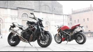 7. MV Brutale 1090RR v Ducati Streetfighter S