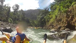 Layou Gorge River Tubing, Dominica.