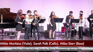 ViBO Music Recital 2014 Excerpt 9 - Violin Group III (Bach Double)
