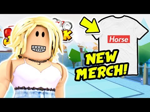 ROBLOX JAILBREAK WINTER UPDATE LIVE! (Volt Bike and Train Robbing)  NEW SUPREME HORSE MERCH!