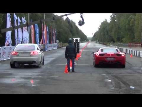 gara su pista - audi rs6 vs ferrari 458 italia