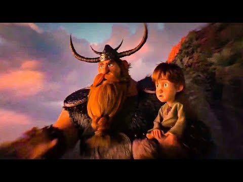 How To Train Your Dragon 3 'Young Hiccup' Movie Scene (2019) HD