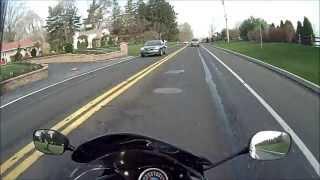 9. 2012 Honda CBR250R ABS Ride to work