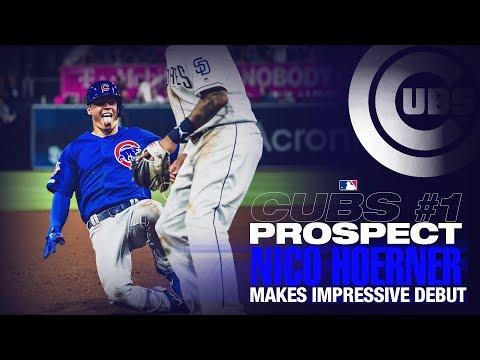 Video: Hoerner's impressive debut