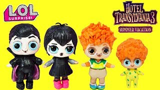 Video Hotel Transylvania 3 LOL Surprise DIY Custom Drac, Mavis, Johnny , Dennis MP3, 3GP, MP4, WEBM, AVI, FLV Agustus 2018