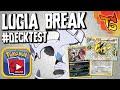 ✪ Pokémon TCG - Lugia BREAK Deck! #DECKTEST