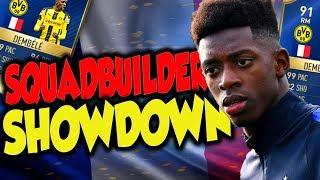 FIFA 17 | SQUADBUILDER BATTLE 🔥 FIRST OWNER TOTS DEMBELE 🔥🔥 | ULTIMATE TEAM
