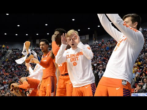 Clemson headed to Sweet Sixteen for the fiirst time since 1997 (видео)