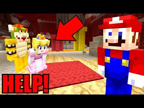 Minecraft | Super Mario Series | PEACH'S LOVE POTION WEARS OFF! *MARIO SAVES HER*! [296]