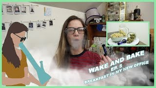 wake & Bake ep.5 | NEW OFFICE, BREAKFAST, AND VALENTINES DAY GOODIES by Jenny Wakeandbake