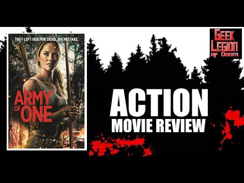 ARMY OF ONE ( 2020 Ellen Hollman ) Revenge Action Movie Review