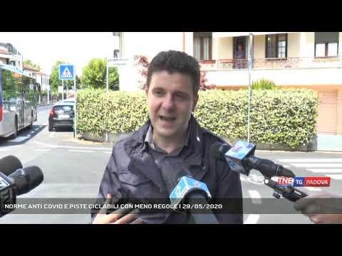 NORME ANTI COVID E PISTE CICLABILI CON MENO REGOLE   29/05/2020