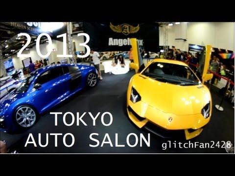 Tokyo Auto Salon 2013! Modified Cars and Supercars!