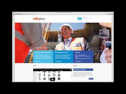 Safety Hero - How To: Introduction | Safety Software