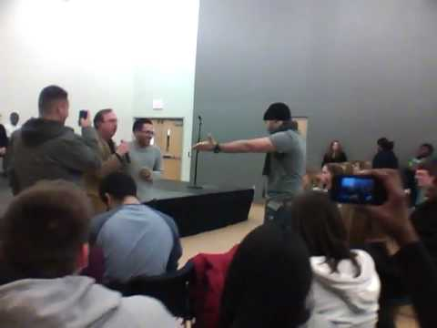 Jim Spinnato - Hypnotist Show UCONN Late Night!