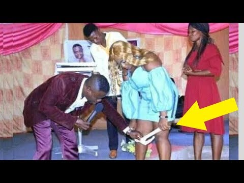 Pastor REMOVES Woman's PANTIES  In The Middle Of Church Service Sets Social Media On Fire