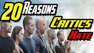 Nonton 20 Reasons Why Critics Hate Furious 7 Film Subtitle Indonesia Streaming Movie Download