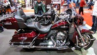 9. 2014 Harley-Davidson Touring Electra Glide Ultra Classic Walkaround - 2014 Toronto Moto Show