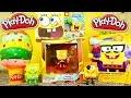 Spongebob Toy Videos Playdough Surprise Egg Spongebob Squarepants Blind Box - Disney Cars Toy Club
