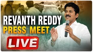 Revanth Reddy LIVE | Revanth Reddy Press Meet after Arrest |  ABN LIVE