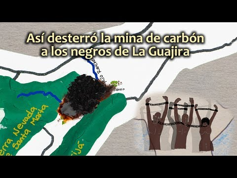 Así desterró la mina de carbón a los negros de La Guajira
