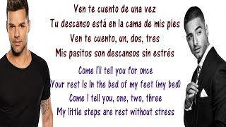 Video Ricky Martin - Vente Pa' Ca Lyrics English and Spanish - ft Maluma - Translation & Meaning MP3, 3GP, MP4, WEBM, AVI, FLV Januari 2018