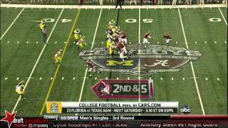 Anthony Steen vs Michigan (2012)