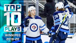 Top 10 Jets Plays of 2019-20 ... Thus Far | NHL by NHL