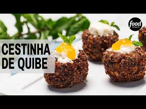 CESTINHA DE QUIBE | COZINHA FOOD NETWORK