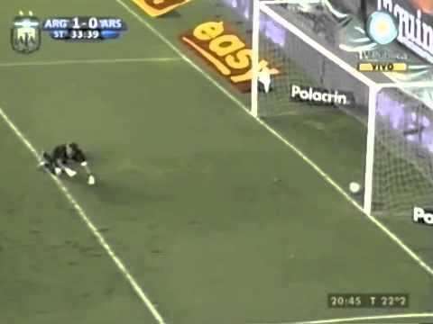 Gol de Santiago Salcedo jugando para Argentinos Juniors partido vs Arsenal