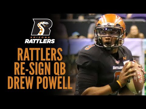 Rattlers Re-Sign QB Drew Powell