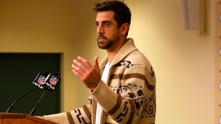 Aaron Rodgers Does Presser As The Dude After Breaking Record by Obsev Sports