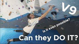 V9 is V HARD || Is it possible? by Bouldering Bobat