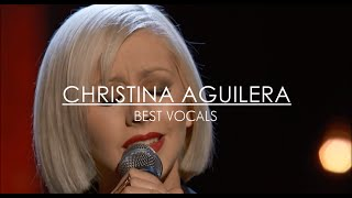 Christina Aguilera's Best Live Vocals (G♯4-G5)