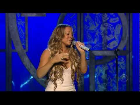 Video Mariah Carey - We Belong Together / Fly Like A Bird (Live at the Grammy's) download in MP3, 3GP, MP4, WEBM, AVI, FLV January 2017