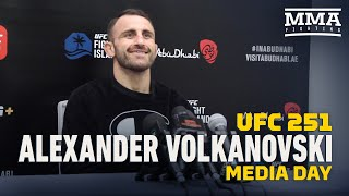 UFC 251: Alexander Volkanovski surprised by comments from 'sore loser' Max Holloway - MMA Fighting by MMA Fighting