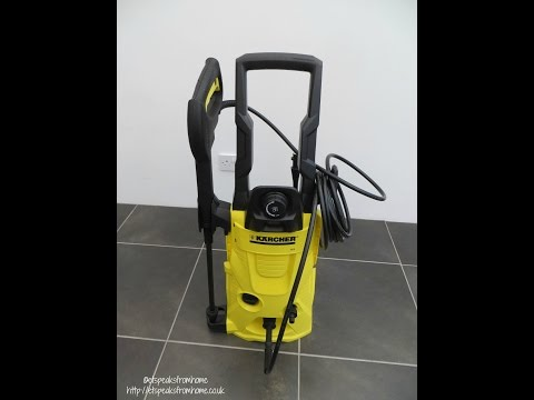 Karcher K4 Home Pressure Washer Review T350