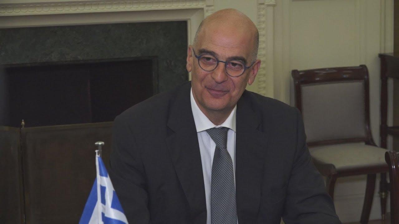 Συνάντηση Υπουργού Εξωτερικών, Ν. Δένδια, με τον Ελβετό ομόλογό του I. Cassis